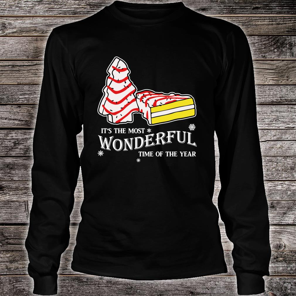 Christmas Tree Cakes Little Debbie inspired Shirt.