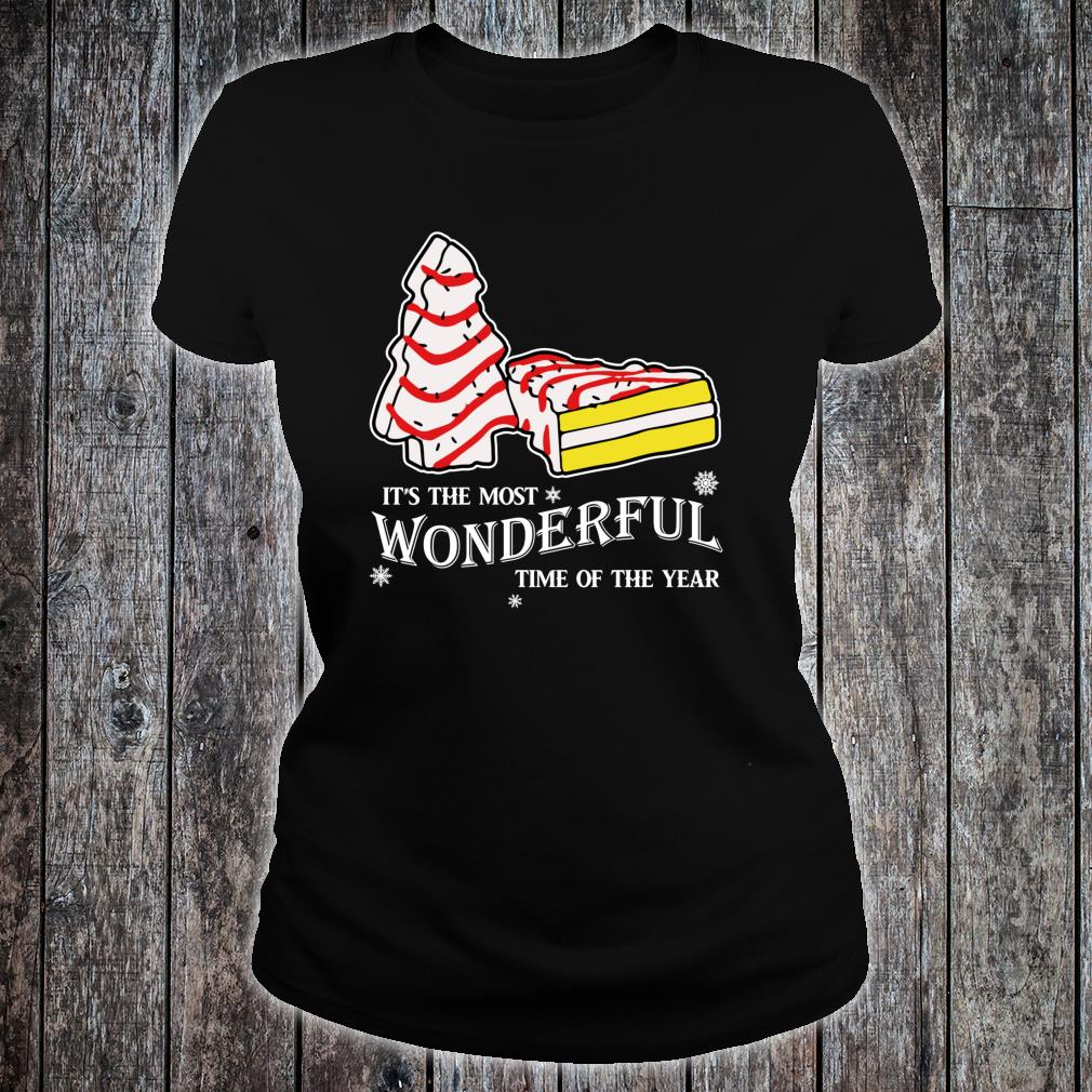Christmas Tree Cakes Little Debbie inspired Shirt.