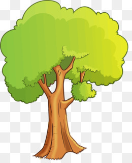 Cartoon Tree PNG.