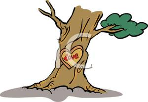 Gallery For > Tree Carving Clipart.