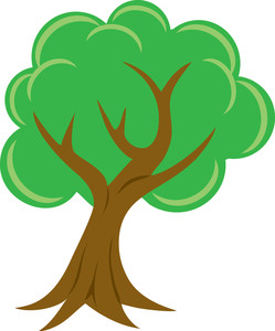Tree Clip Art Background.