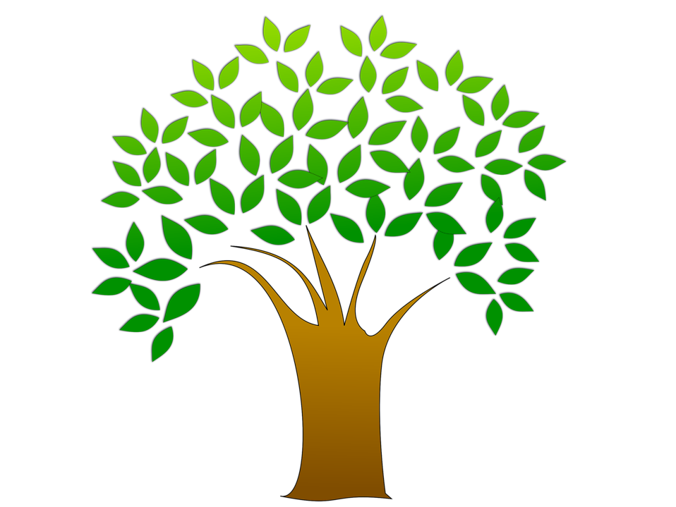 Tree Clip Art With Leaves.