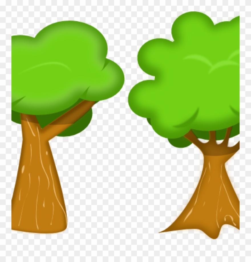 Trees Cliparts Soft Trees Clip Art At Clker Vector.
