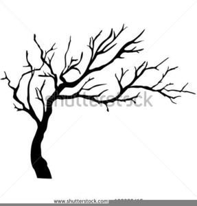 Apple Tree Clipart Black White.