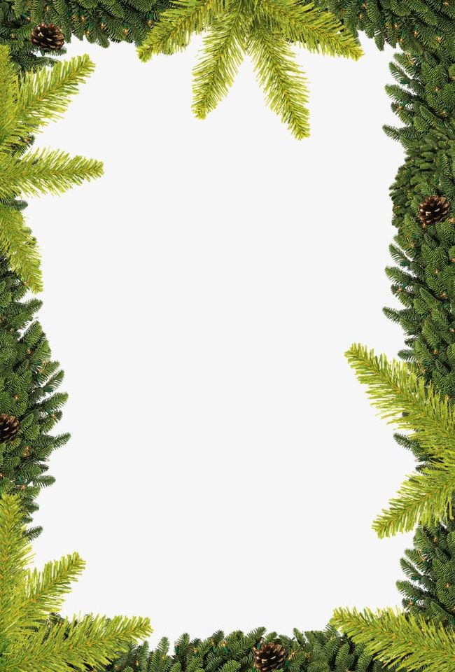 Trees Border PNG, Clipart, Border Clipart, Border Clipart.