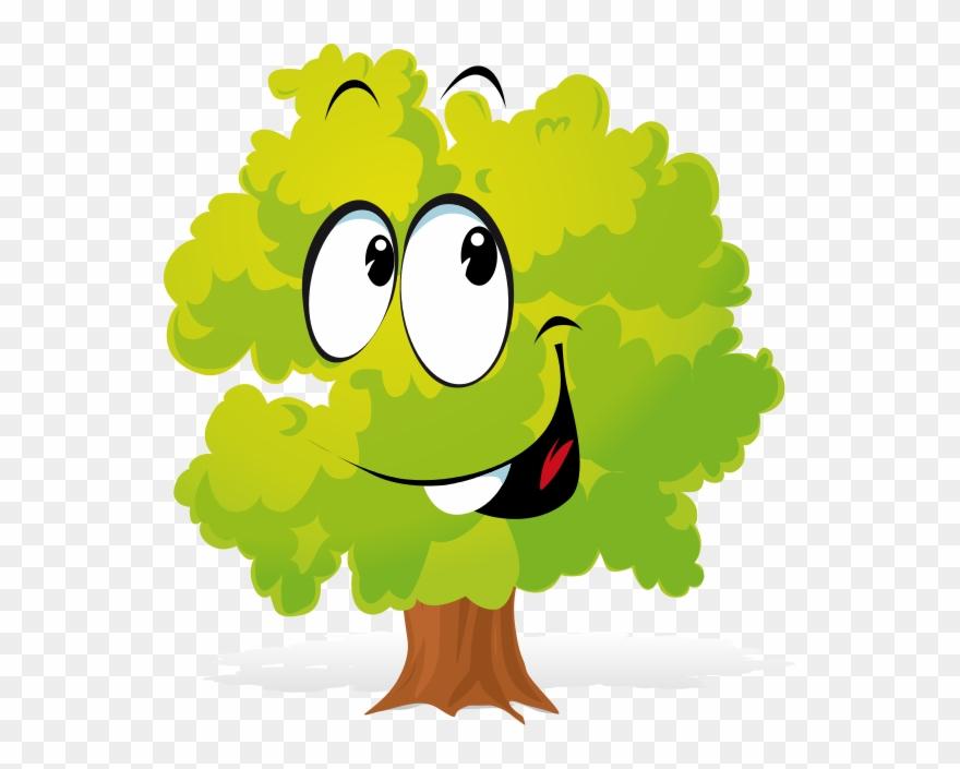 Free Cartoon Tree Clipart.