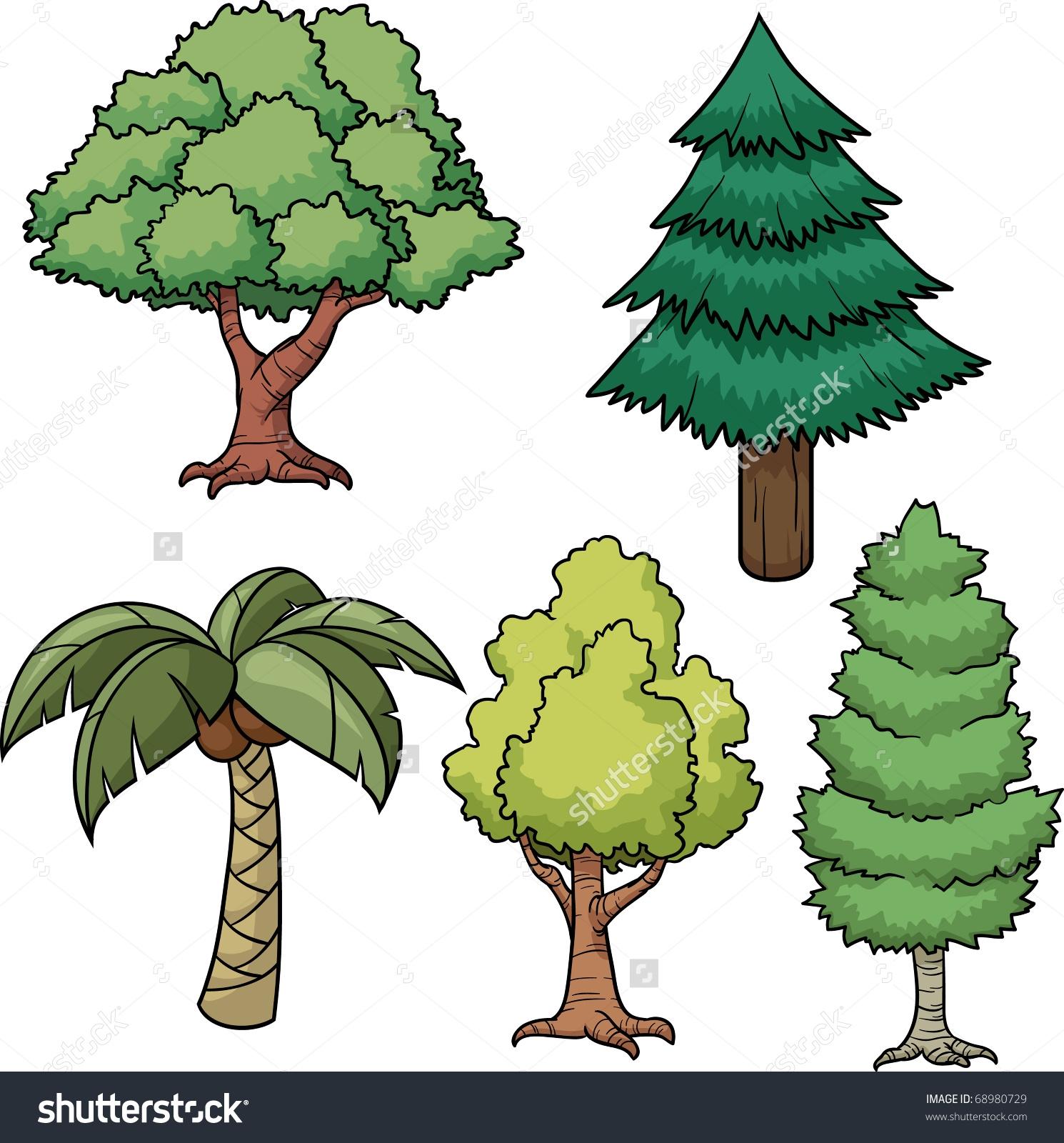 Easy Tree Clipart.