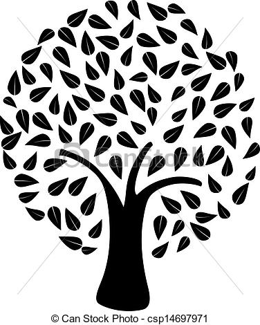 Tree Clipart An Eassy Drawing.
