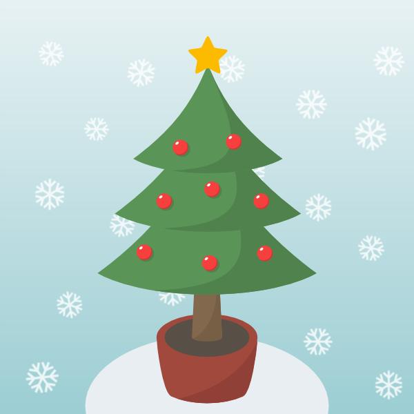 Tree Clipart Easy.