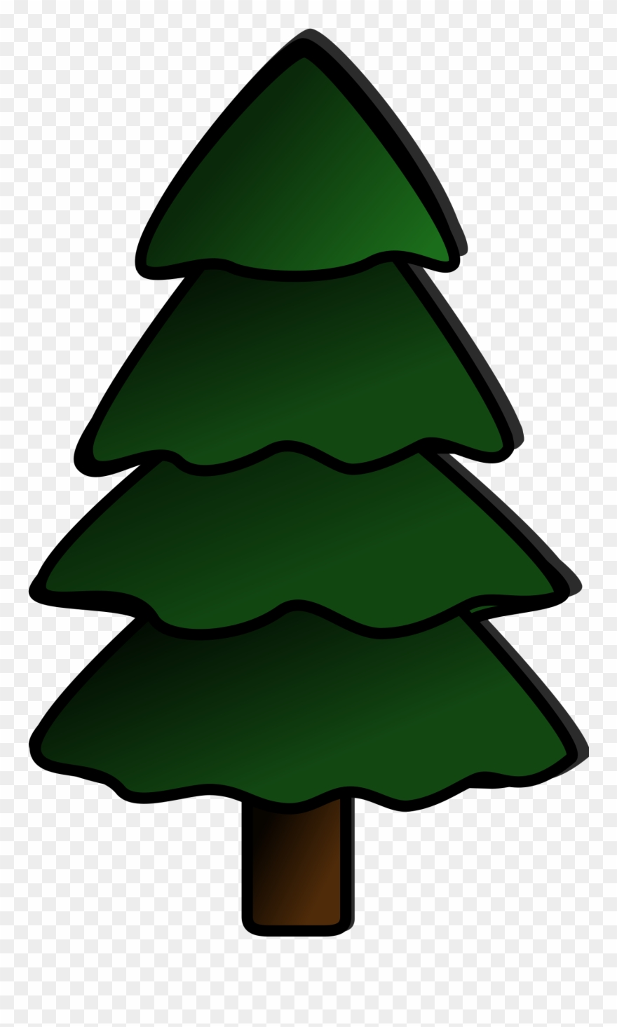Tree Svg Vector File, Vector Clip Art Svg File.