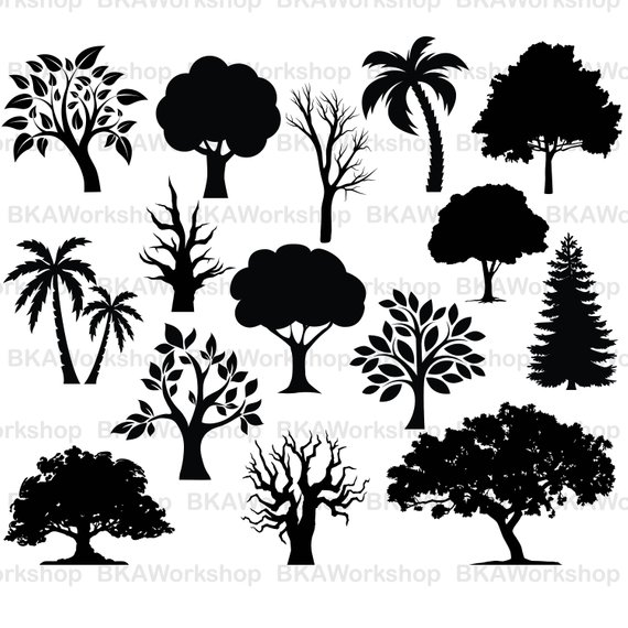 Tree Vector File at GetDrawings.com.