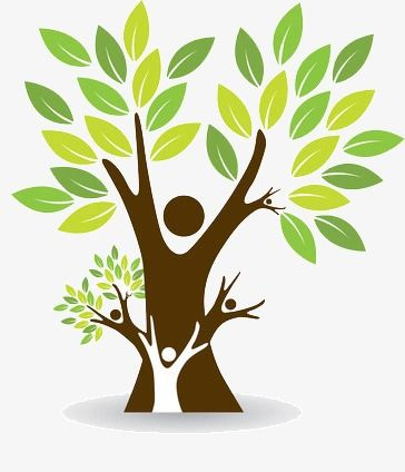 Family Tree, Family Clipart, Tree Clipart, Ecological.