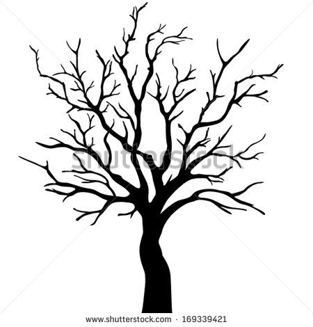 Tree Outlines Stock Photos, Images, & Pictures.