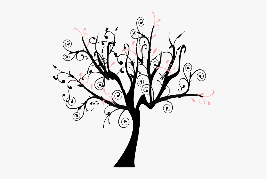 How To Set Use Branch Vine Swirl Tree Svg Vector.