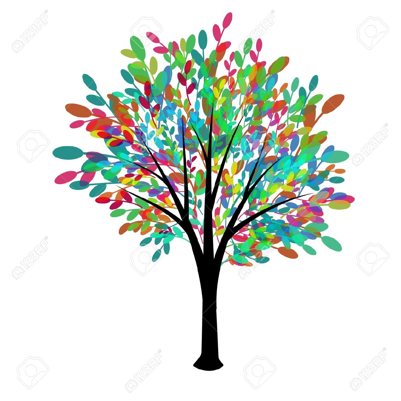 Tree of Life Clip Art.