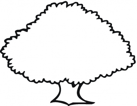 Free Outline Of Trees, Download Free Clip Art, Free Clip Art.