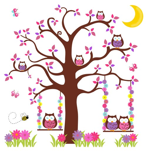 tree clipart wallpaper #9