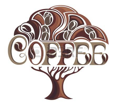 4,661 Coffee Tree Stock Vector Illustration And Royalty Free.