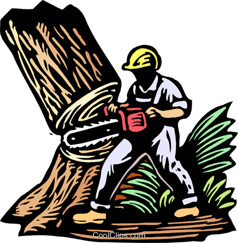 Cut Down Tree Clip Art.