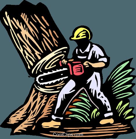 Cut Down Tree Clip Art.