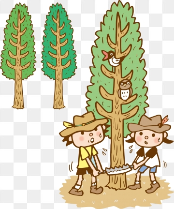 Tree Cutting Png, Vector, PSD, and Clipart With Transparent.