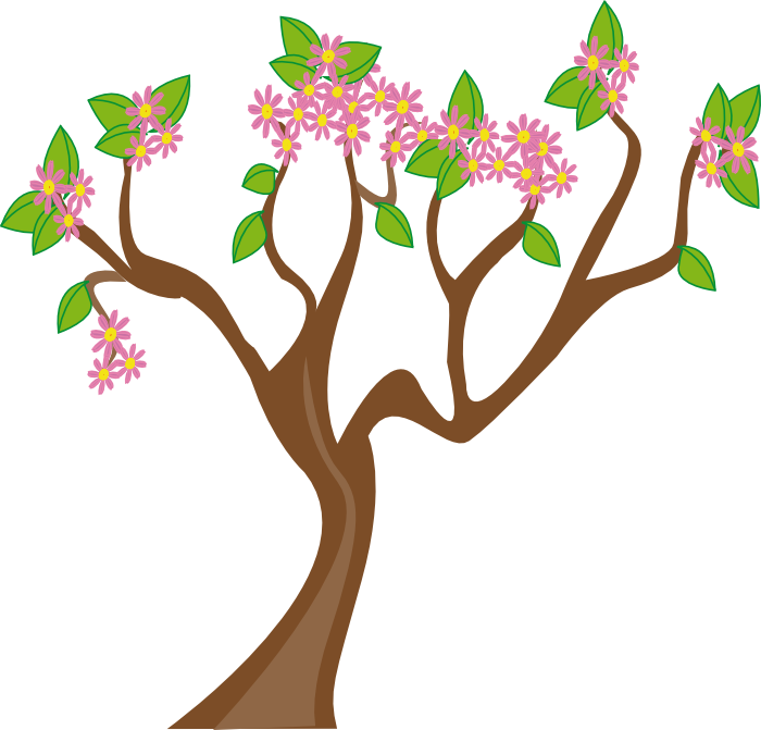 Cartoon spring clipart.