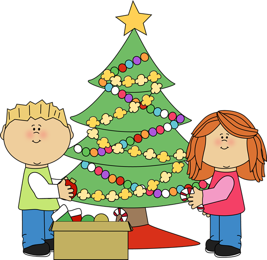 Christmas tree decoration clipart - Clipground