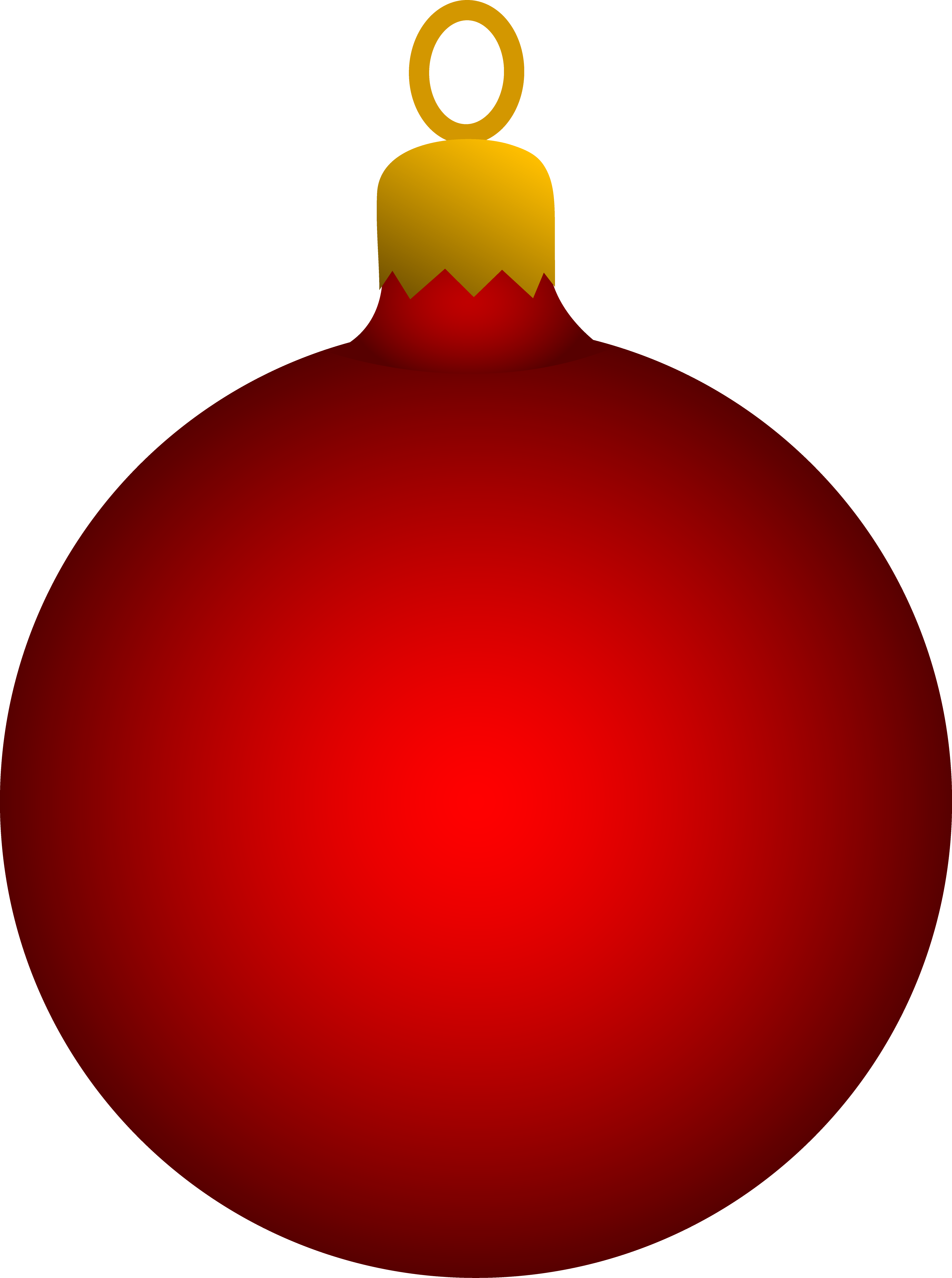 Christmas tree decoration clipart.