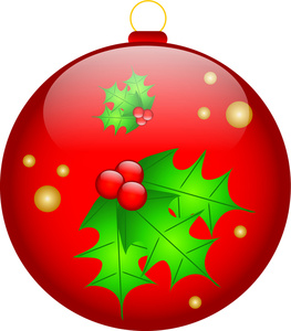 Christmas decorations clipart #3