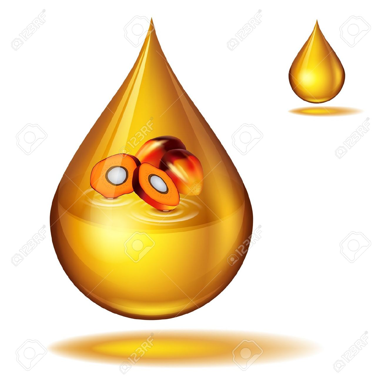 Oil drop tree clipart.