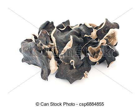 Stock Images of Muer (Cloud ear fungus).