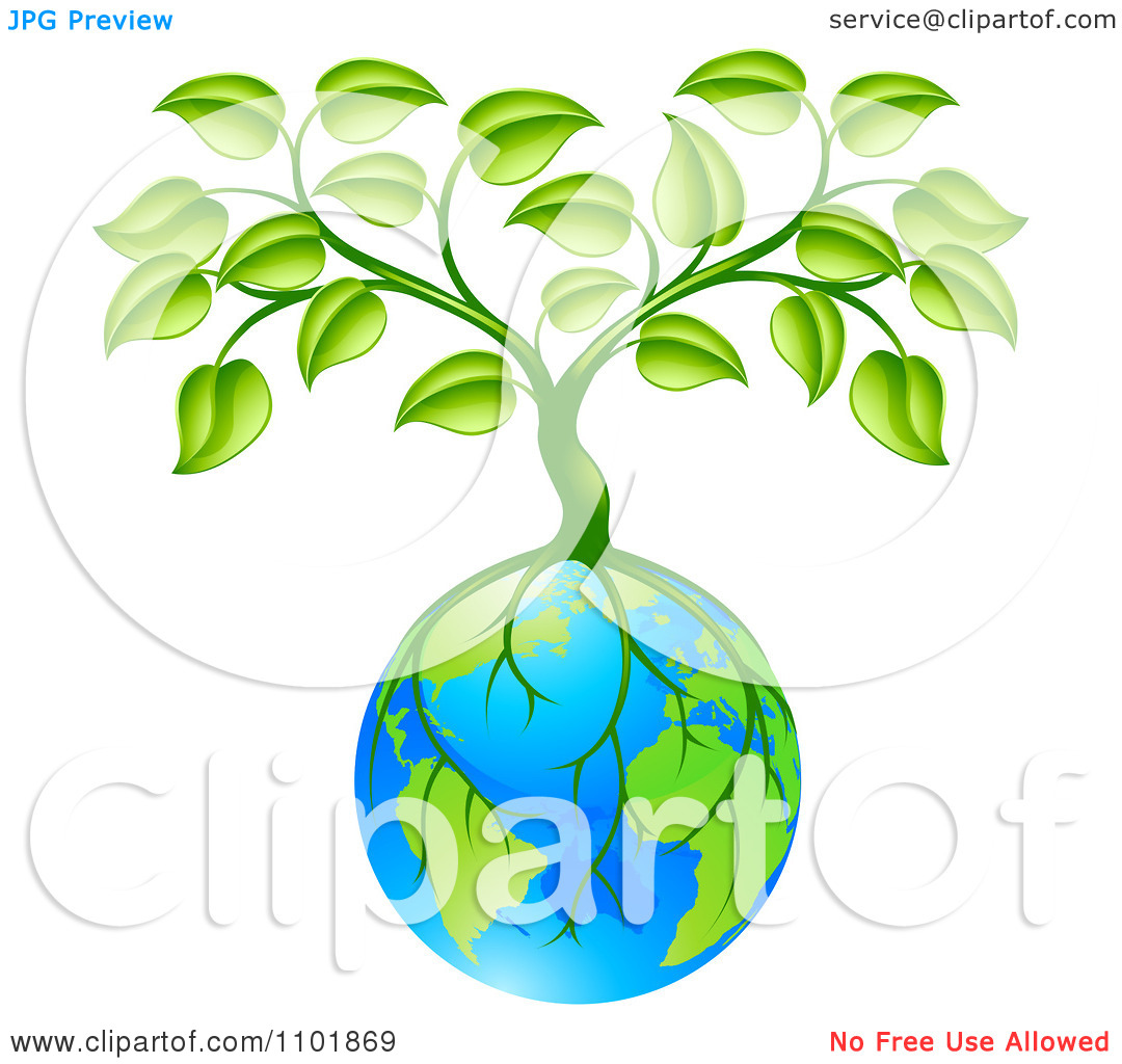 Earth Tree Clipart.