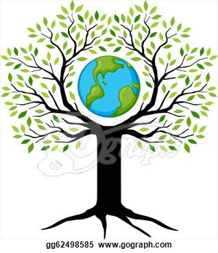 Tree Earth Clipart.