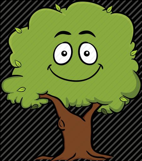 \'Tree Emoji Cartoons\' by Vector Toons.