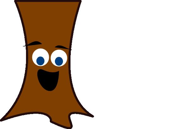 Tree Trunk Face Clip Art at Clker.com.