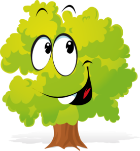 Showing post & media for Cartoon tree face clip art.