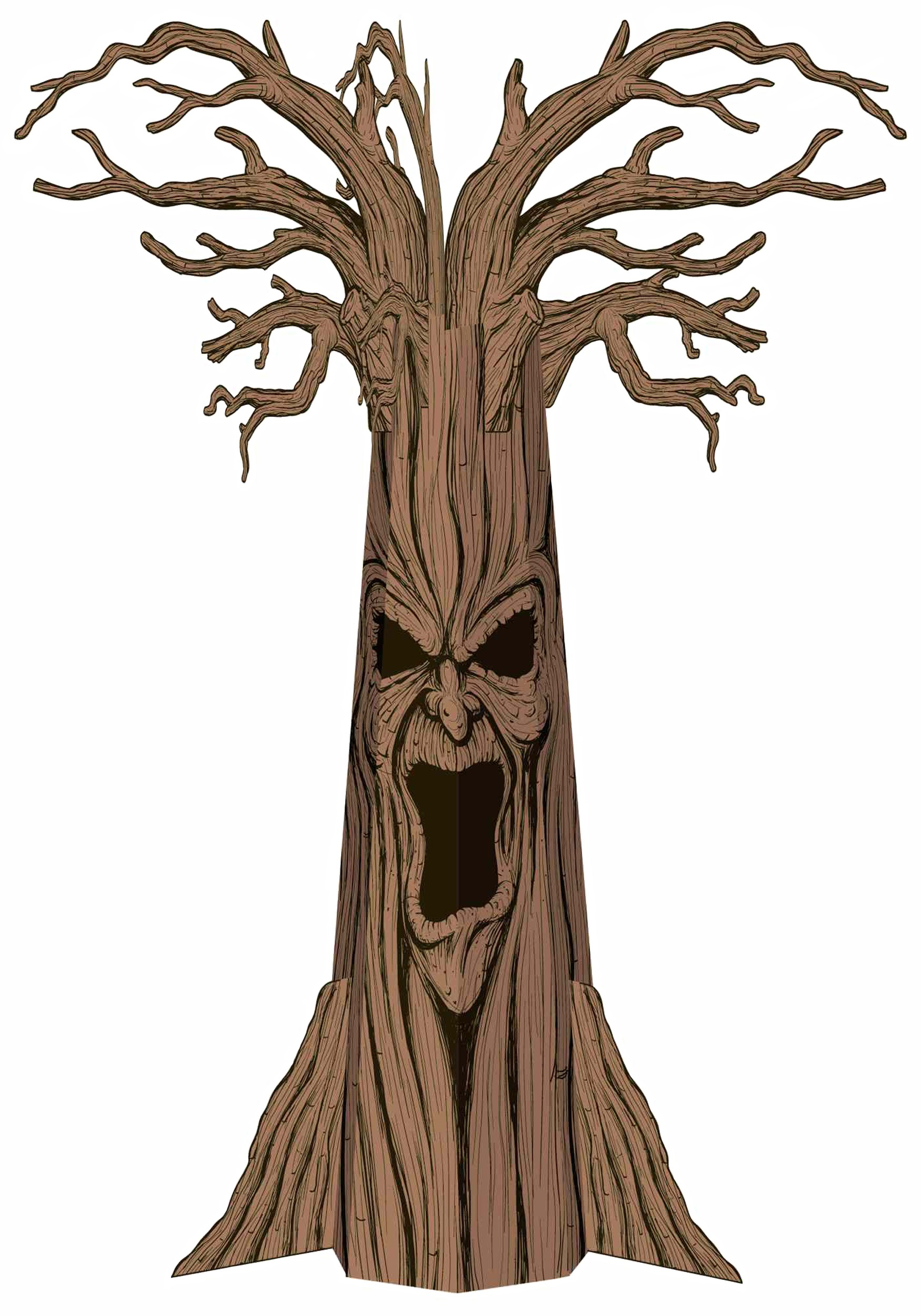 Tree With Face.