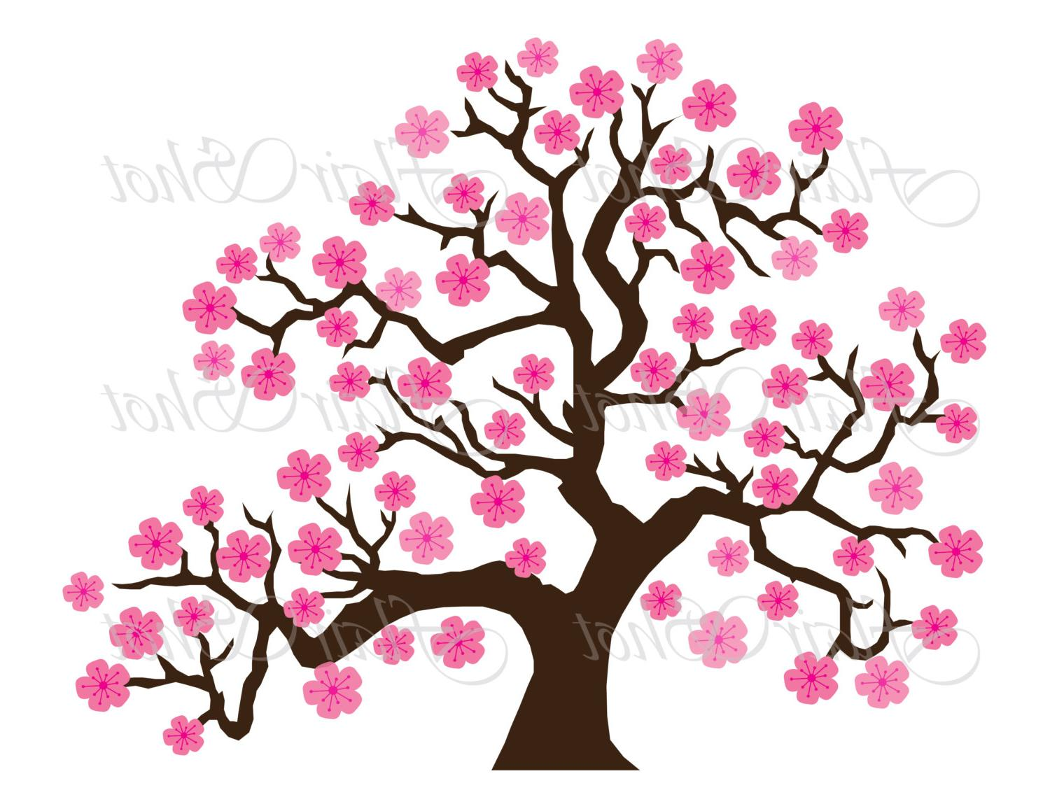 Flower Tree Clipart.