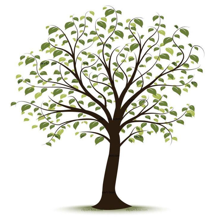66769 Tree free clipart.