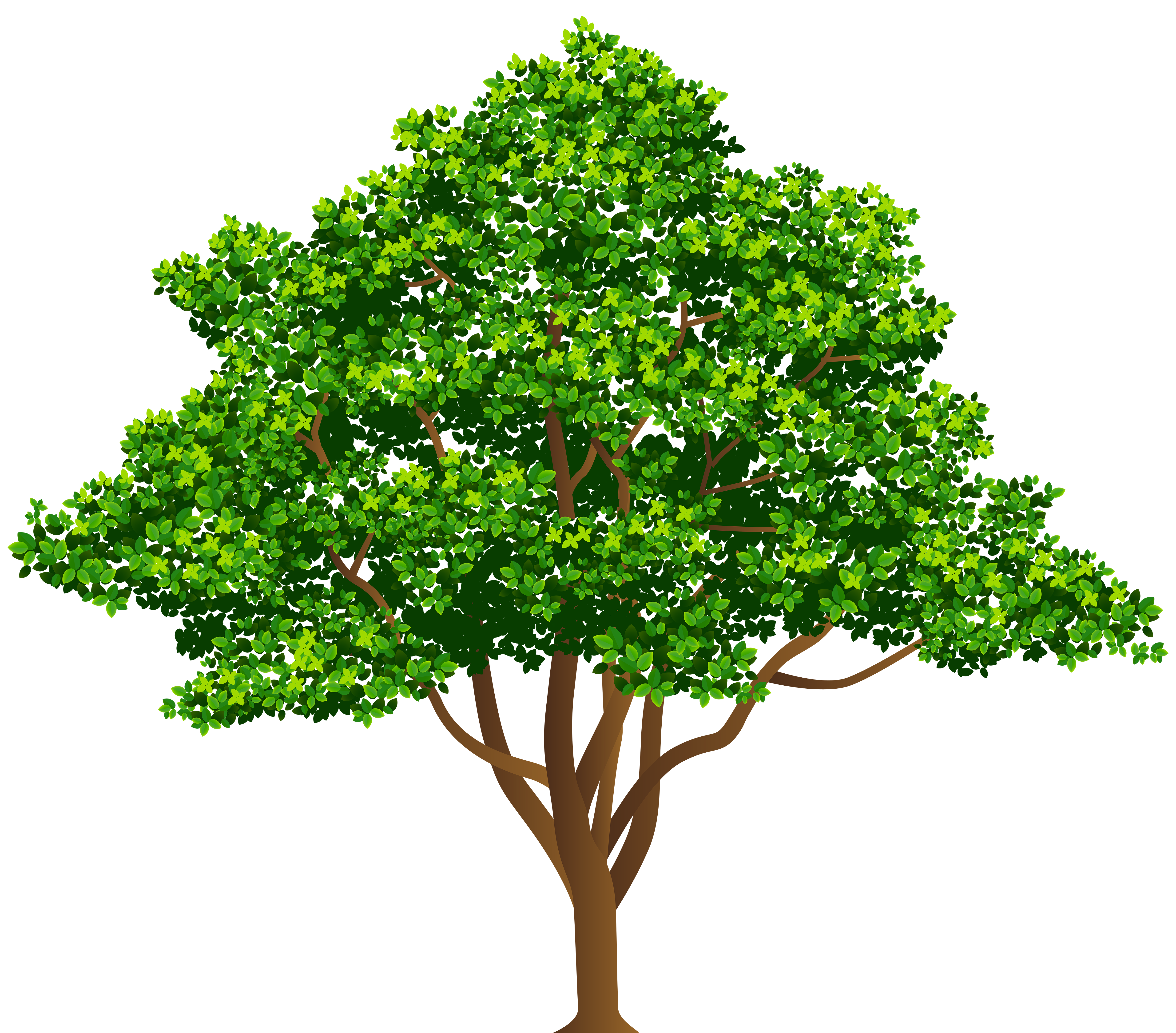 Tree Free PNG Clip Art Image.