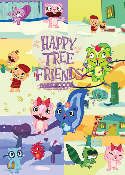 Happy Tree Friends, Vector Files.