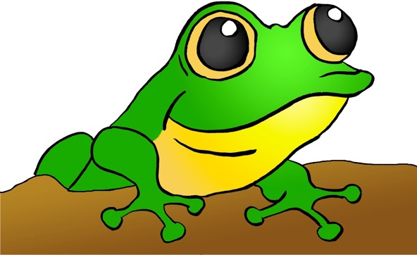 Free tree frog clipart.