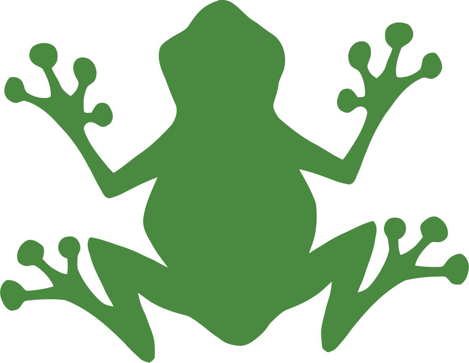 Cartoon Jumping Frog.