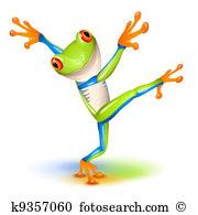 Tree frog Clipart Illustrations. 494 tree frog clip art vector EPS.