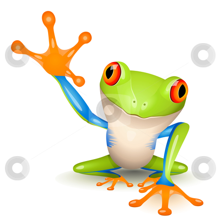 Tree Frog Free Clipart.