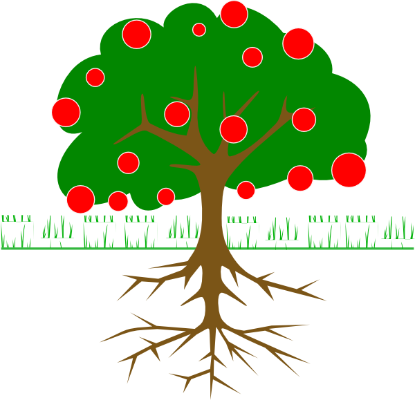 Branch Tree Fruit Clipart.