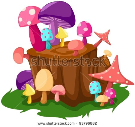 Fungus On Tree Stump Stock Photos, Royalty.