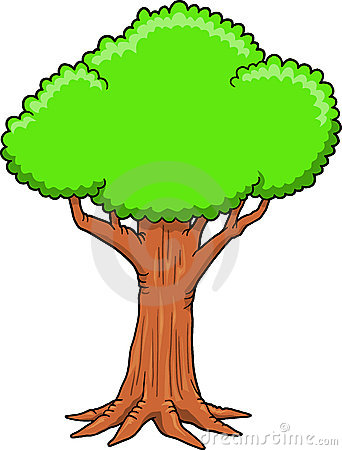 Giant tree clipart.