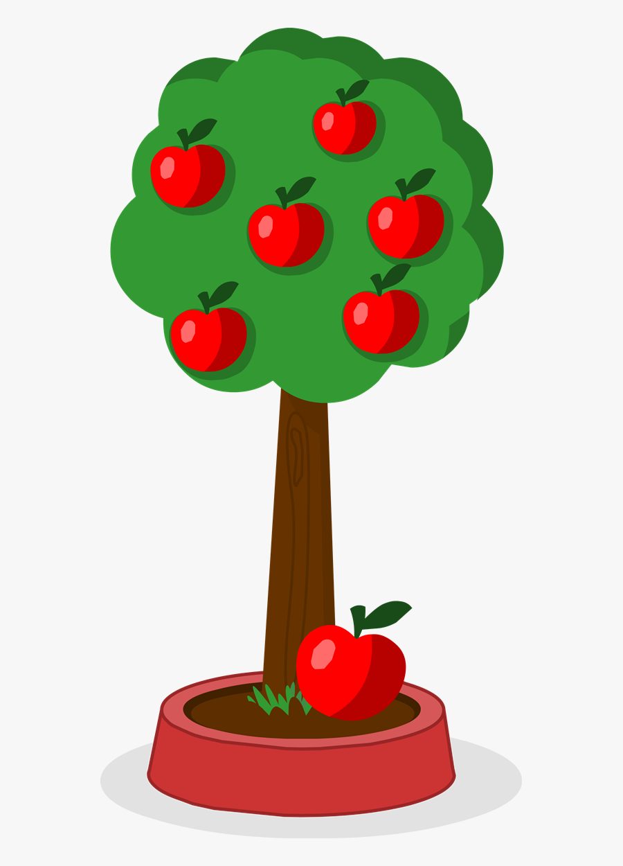 Apple Tree Gif Transparent , Free Transparent Clipart.