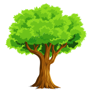 Colorful Natural Tree clipart, cliparts of Colorful Natural.